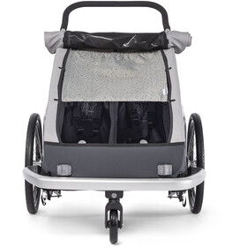 Croozer Cache soleil pour Kid Keeke 2, stone grey/colored